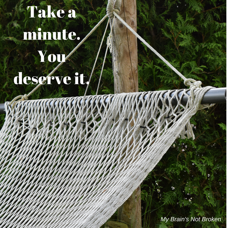 Medium image of take a minute  you deserve it